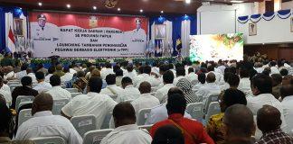 Gubernur Buka Rakerda Se-Papua