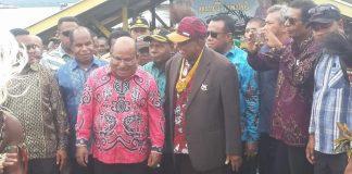 Gubernur Lukas Enembe Dinobatkan Bapak Pembangunan Sejati Papua
