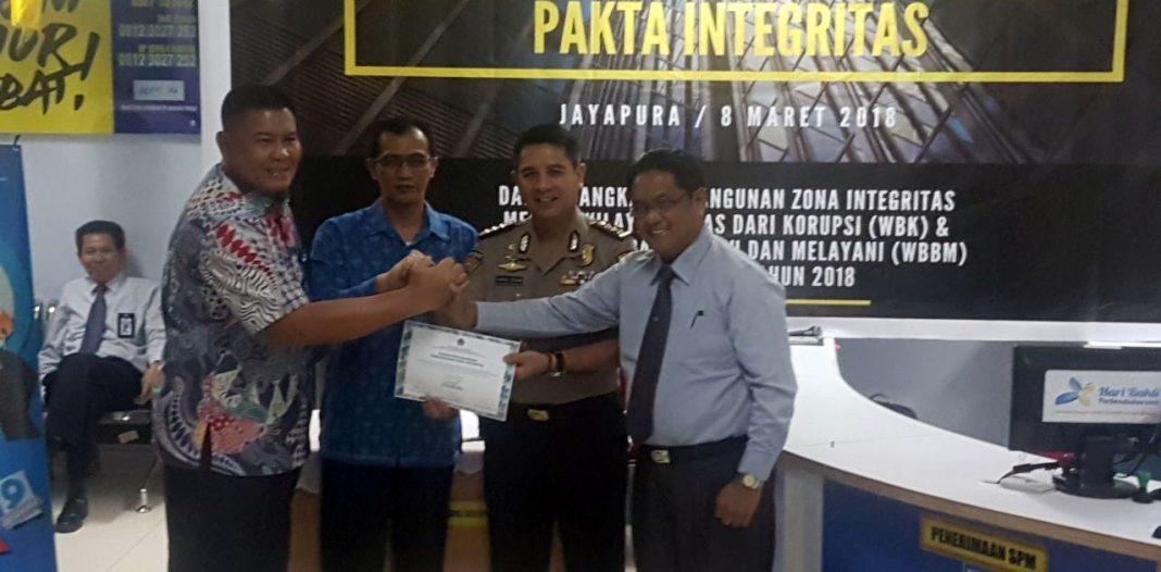 Kppn Jayapura Canangkan Zona Integritas Papua Today